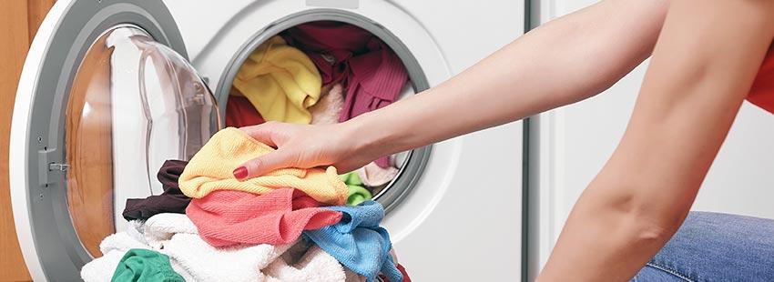 la lavadora se ha sobrecargado