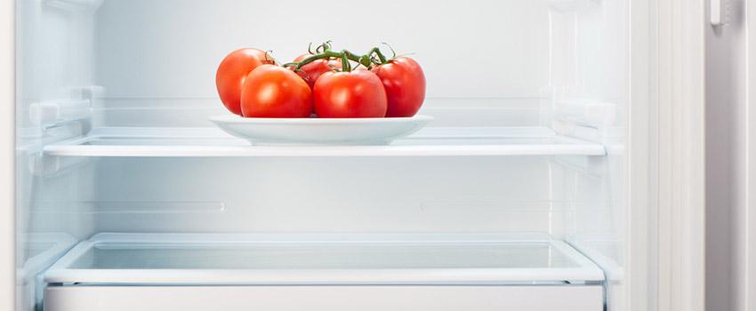 un frigorífico poco lleno también puede costar dinero