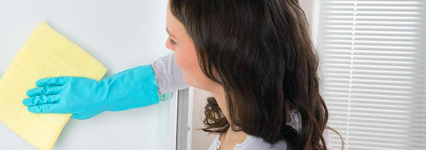 Limpiar los muebles del frigorífico