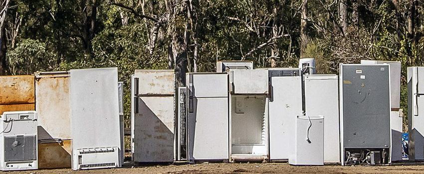 frigoríficos y congeladores viejos