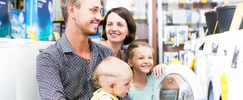 Decidir qué nuevo electrodoméstico comprar