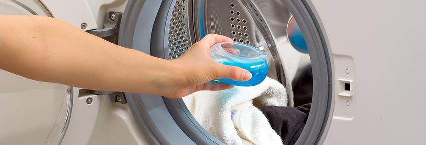 Demasiado detergente